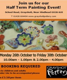 Half Term Painting Event