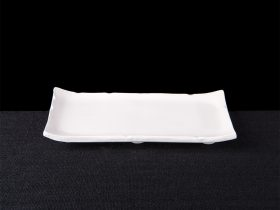 Small Footed Rectangle Plate