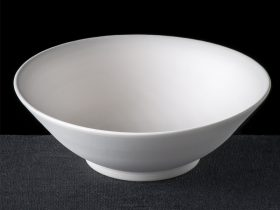 Gently Tapered Serving Bowl