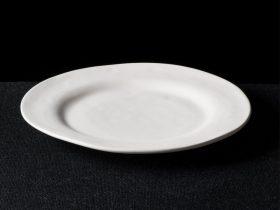 Irregular Rimmed Plate