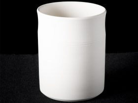 Utensil Jar With Two Rings