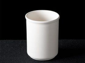 Utensil jar with two rings