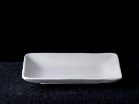 Rectangle Plate Sloped Sides
