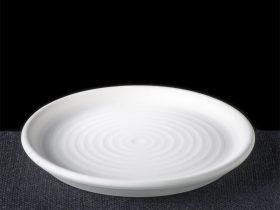 Small Rim Round Flat Plate