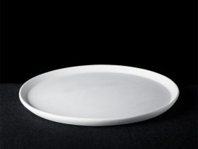 Small Rim Round Pizza Plate
