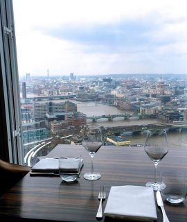 Sky High Views – Oblix in the Shard