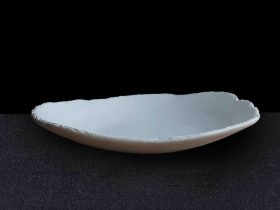 Oyster Plate Gnarled Edge